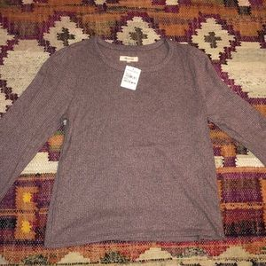 Purple Madewell long sleeve shirt